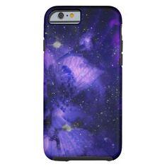 Lavender Floral Nebula iPhone 6 case