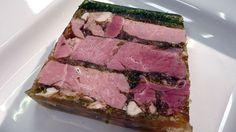 Burgundy ham terrine recipe : SBS Food