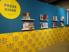 Julie Yülle, le blog: Le kiosque Presse du salon Playtime...