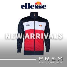 Mens Ellesse Caprini Dress Blue Racing Red Track Top £49.50 http://menswearshop.co.uk/mens-ellesse-caprini-dress-blue-racing-red-track-top.html