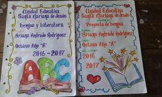 51 Mejores Imágenes De Caratulas Hechas A Mano Decorated Notebooks