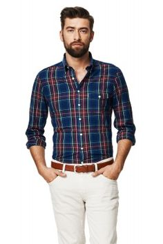 Highmount Oxford Check Fitted Button Down Shirt Check Shirt Man, Iron Shirt, Formal Shirts, Wardrobes, Shirt Outfit, Oxford, Men's Fashion, Button Down Shirt, Dressing