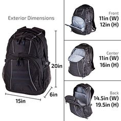 0fb34a3859 Laptop Backpack 15.6