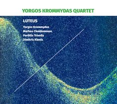 CD cover for Yorgos Krommydas Quartet's Luteus Cd Cover, My Works, Behance, Gallery, Projects, Check, Movie Posters, Log Projects, Blue Prints