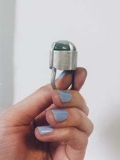 One of a Kind - Jade Tower Ring designed/made by Lydia Buxton