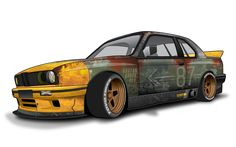 Image result for e30 325i rat rod
