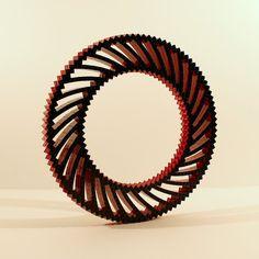 Brick Bending - LEGO Spiral Annulus I