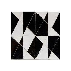 TRC2 Noir & Blanc Collection Creative Ateliers Zelij