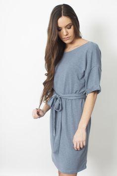 Emmi Dress - Navy