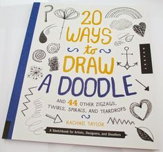 print & pattern: BOOK - 20 ways to draw a doodle