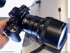 The Olympus 40-150mm f/2.8 with hood retracted