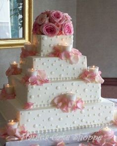 One of my all time favorite designs.....the candles are soooo romantic.