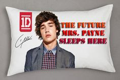 New One Direction Mrs Payne Rectangle Pillow by unlimitedstore2u, $14.99