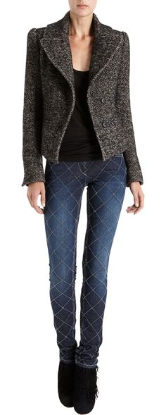 Étoile Isabel Marant Diemos Blazer. w Crushin on the whole outfit