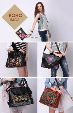Boho bags by Emby Bags