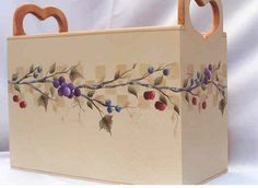 branches and berries file box