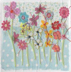 Flower Garden card £2.75