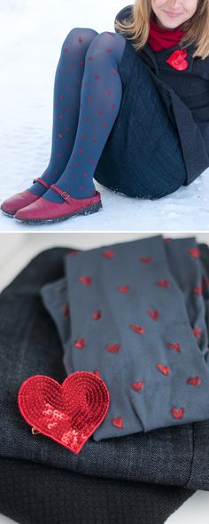 DIY: Make your own Heart Tights || this heart of mine