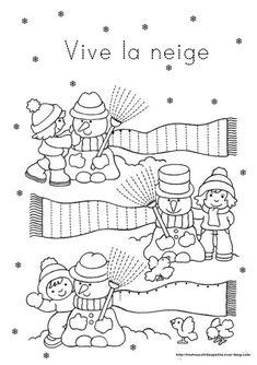 l'hiver en maternelle - Recherche Google