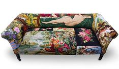 Tapestry Couch by Frederique Morrel on HomePortfolio