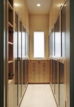 Good walk-in robe design - It's nice to be able to close the doors on all the mess!