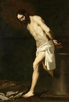 Christ at the Column, c 1660 Francisco de Zurbaran