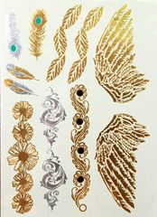 Mermaid Tattoo #21 • idr 100,000 or $10 • FREE shipping around Indonesia • worldwide shipping • LINE : reginagarde • shop online www.reginagarde.com