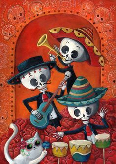 Mexican style, illustration by Madame Colonelle