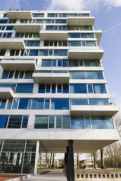 Aquamarijn is een nieuwbouwproject op in Amsterdam Nieuw-West en in 2010 genomineerd voor de Amsterdamse Nieuwbouwprijs