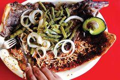 Huaraches con Carne Asada (Mexico City–Style Corn Tortillas with Steak)