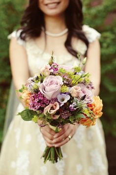 lilac-bouquet - love the colours, not so much the country style.