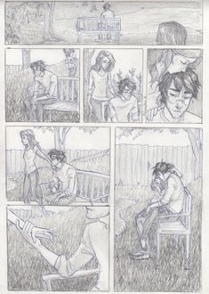 weary by *burdge-bug on deviantART   I can see this as Ginny and Harry after the final battle