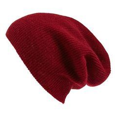 Women's Halogen Slouchy Cashmere Beanie ($34) ❤ liked on Polyvore featuring accessories, hats, beanies, head, red cordovan, red hat, cashmere hats, red slouch beanie, red beanie hat and cashmere beanie hats