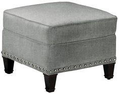 Custom Rockford Ottoman - would look perfect in twilight blue.