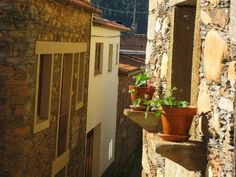 Schist Village   Aldeia do Xisto Janeiro de Cima Portugal, Portuguese, Old Houses, Brazil, Exterior, Outdoor Structures, Bucket, Beautiful, Lifestyle
