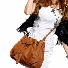 Cheap ladies handbags, Buy Quality tote purse directly from China leather women Suppliers: Hcandice Best Gift Hcandice Lady Handbag Shoulder Bag Tote Purse Leather Women Messenger Hobo Bags drop ship Shoulder Bags For School, Large Shoulder Bags, Big Shoulders, Leather Fashion, Pu Leather, Brown Leather, Leather Shoulder Bag, Cross Body, Leather Handbags