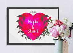 Wedding personalized graphics/ Grafika ślubna personalizowana