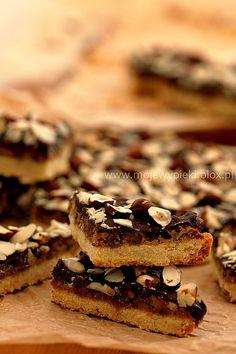 Moje Wypieki | Karmelowe ciastka z orzechami