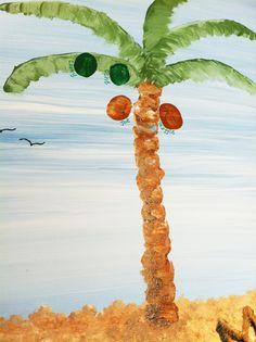 Fingerprint Tree for Beach Wedding/Family Reunion - Hand Painted Art thumbprint art Finger Painting, Hand Painting Art, Painting For Kids, Art For Kids, Kid Art, Preschool Art Projects, Art Activities, Preschool Crafts, Preschool Rules
