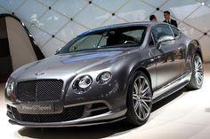 Bentley Continental GT Speed - Ginebra 2014