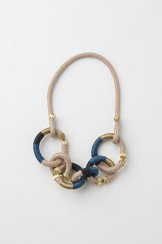 pichulik  Gold Circlet necklace