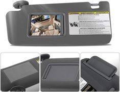 Make Auto Parts Manufacturing Driver Left Side Windshield Sun Visor Replacement Gray for Toyota Tacoma 2005 2006 2007 2008 2009 2010 2011 2012 2008 Toyota Tacoma, Warm Down, Car Brands, Amazon Products, Sunshine, Gray, Grey, Nikko