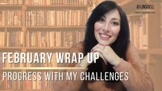 February Wrap Up: My Progress With My Challenges. My Books, The Creator, February, Challenges, Blog, Blogging