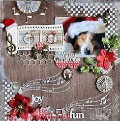 Christmas Music is in the air - Scrapbook.com