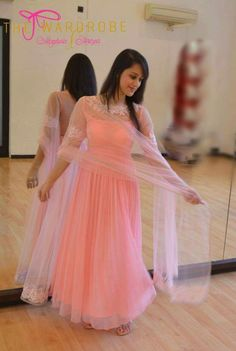 Indian Dress Up, Indian Gowns Dresses, Gala Dresses, Party Wear Dresses, Indian Attire, Indian Outfits, Western Outfits, Indian Wear, Designer Anarkali Dresses