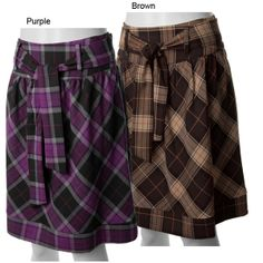 Purple Tartan Skirt