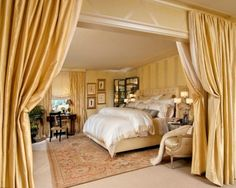 Traditional Bedroom Master Bedroom Design, Pictures, Remodel, Decor and Ideas - page 12 Luxury Bedroom Furniture, Luxury Bedroom Design, Master Bedroom Design, Home Decor Bedroom, Interior Design, Bedroom Ideas, Master Suite, Bedroom Designs, Glam Bedroom