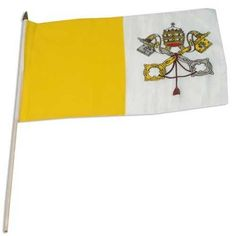 Vatican City Holy See Flag Magnet 4x6 inch International Flag Decal for Car