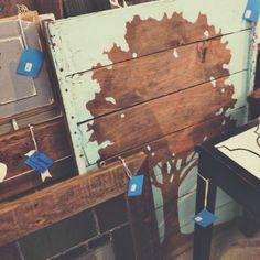 reclaimed wood art...like the silhouette idea...like the tree
