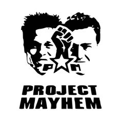 Fight Club Project Mayhem Vinyl Decal Sticker  BallzBeatz . com